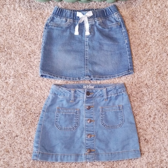 GAP Other - Like New Girls Jean Skirts Size XS and 5 Kids